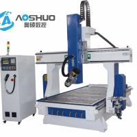 China 4.5KW Vacuum Table 3d Wood Cnc Router Machine 1325 For Plate Furniture Industry on sale