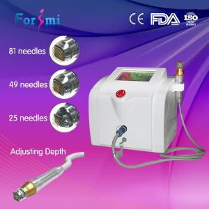 China 2016 newest Wrinkle removal Acne removal acne pores shrinking rf microneedle rf machine on sale