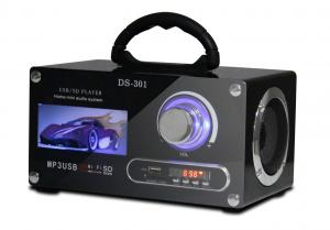 China Mini Usb Portable Stereo Speakers Car DJ Equipments Music Box For Mobile # JS301 on sale