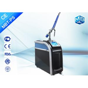 China Painless Q Switch Picosecond Laser Tattoo Removal Equipment , Picosecond Aesthetic Laser Machine on sale