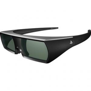 China Universal IR Active Liquid Crystal Shutter 3D TV Glasses GH300-JP With CR2032 Battery on sale