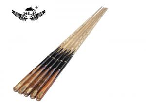 China SLP High Quality 9-10 MM Tip Ash Wood Billiard Snooker Cue For Sale on sale