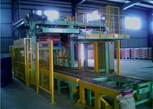 China Automatic Palletizing Sack Big Bag Stacking Machines / Equipment 12 Months Warranty on sale