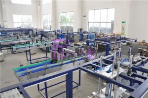 China Hot Melting Glue Machine Water Bottle Packaging Machine For Beverage Industry on sale