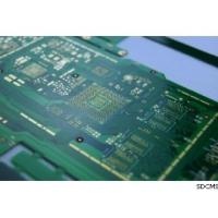 Green Solder Mask Multilayer Controlled Impedance PCB with 3mil Line Width