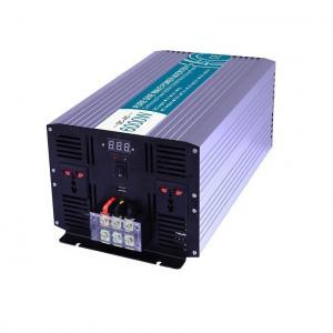 China Real Power 12V 24V DC TO AC 220VAC 110V 300W Pure Sine Wave Off-grid Power Inverter on sale