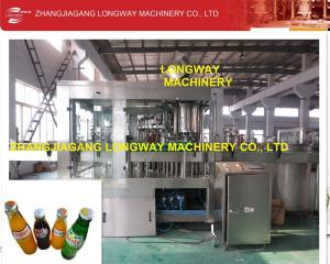 China experienced manufacturer of csd water filling machine on sale