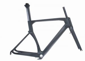 Quality 1000g -1150g Carbon Fibre Road Bike Frame UD Matte / Gloss Finish HT-R206 for sale