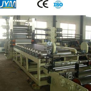 China PVC Sheet Calendering Machine , PVC Sheet Making Machine With Customized Length on sale