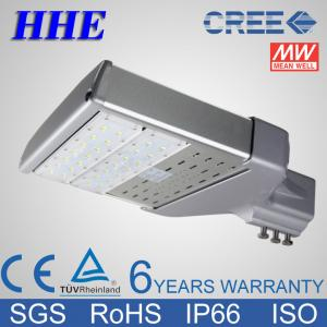 China 60W Cold white 6000K CREE LED Street Lighting Fixtures with Meanwell Driver on sale