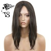 China Black Straight African American Lace Front Wigs , Virgin 100% Human Lace Front Wigs on sale