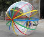 Bola inflable del agua de Accessproes de la piscina de los niños con las tiras de color para el juego