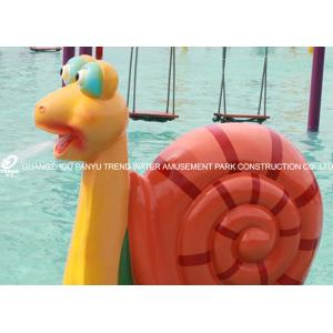 China Water Spray Parks Outdoor Water Play Equipment With Cartoon Animal Shaped for Water Park on sale