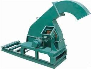 China Low  Noise Compact  Structure Wood Pelletizer wood chipper machine / equipment on sale
