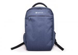 China Casual Style 2 Compartment Backpack , Custom Design Backpack Logo Printed on sale