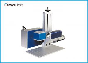 China Air Cooling Mini Bamboo Wood Nonmetal Metal Laser Marker Machine 20w 30w 50w on sale