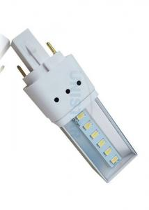 China Dimmable 120 Degree 2 Pins / 4 Pins G24 LED Light Lamp 3W with 6pcs 5630 SMD LED on sale