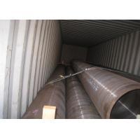 High Pressure Seamless Steel Tube Pipe Hot Rolled 38