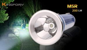 China Outdoor Multifunctional 200Lumen Camping Flashlight 2*18650 Rechargeable Torch lamp on sale