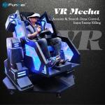 Joystick Control Real Mecha Feeling 9D Virtual Reality Simulator In Game Park