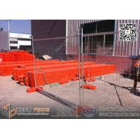 AS4687 -2007 Temporary Fencing Panels | Clamp | Feet HDG 42 microns UV treatment base Made In China ,China Supplier
