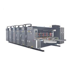 China AC Servo Control Flexo Printer Slotter Die Cutter Paperboard Carton Box 380/415/440V on sale