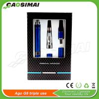 China New AGO G5 Triple Use on sale!! Vaporizer for e liquid/wax/dry herb on sale