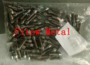 China titanium flange nuts, titanium hex bolt, titanium round head screws, titanium allen head screws, titanium countersunk he on sale