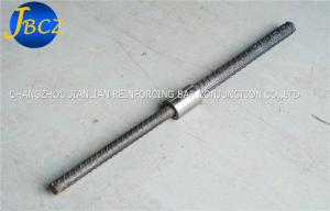 China Architecture Reinforcing Bar Couplers Reducing Upset Forging Parallel Thread Rebar Coupler on sale