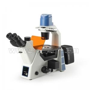 China A16.0912-l Trinocular Inverted Microscope N.a.0.3 Condenser For Laboratory on sale