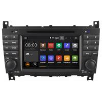 Mercedes C Class Car GPS Navigation System Quad Core Mercedes Benz GPS W203 DVD Player