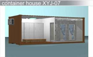 China 20ft Container House / 20 ft Combination Container House For Different Design on sale