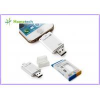 China USB i- Flash Drive HD For iPhone / ipad with Toshiba Samsung Flash Chip , 16G 32G 64G on sale