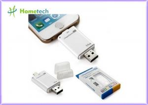 China USB i- Flash Drive HD For iPhone / ipad with Toshiba Samsung Flash Chip , 16G 32G 64G on sale