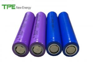 China Purple / Blue 18650 Li Ion Battery 2000mAh , Electronic Toothbrush 3.7 Volt Rechargeable Battery on sale