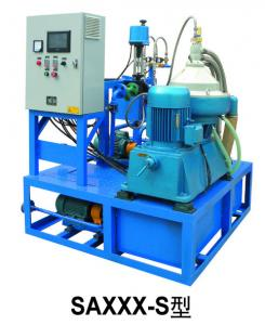 China Module Automatic Industrial Oil Separator Machine , Diesel Oil Purifier 3500 L / H on sale
