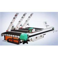 Integrated CNC Glass Cutting Machine , Glass Shape Cutting Machine With Loading Arms