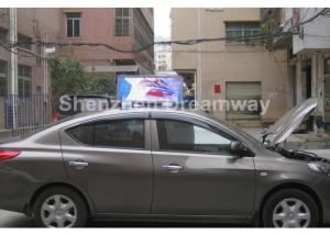 China PH6 Taxi LED Display, Automatic Brightness Control Cab Topper LED Display on sale