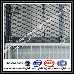China 2.0mm mild steel expanded metal sheet for window screen on sale