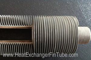 China Tipo tubo do aço carbono OD19X1.25WT LL de A179 SMLS do radiador das aletas com caixa do espaçador on sale