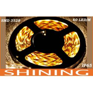 China 12 Volt 24W Flexible SMD LED Strip Light Cool White IP65 300pcs 3528 LED on sale