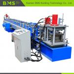 Concrete C Channel Purlin Roll Forming Machine 12-15m/min Production Capacity