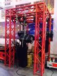 Electric Motor Chain Hoist For Construction Loading  Standard Chain Fall Hoist