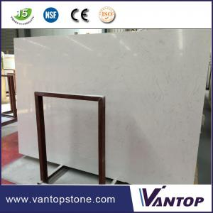 China Carrara White Artificial Marble Compact Marble Stone Slab 320x160cm / 240x160cm Engineered Marble Stone White Prime Nano on sale