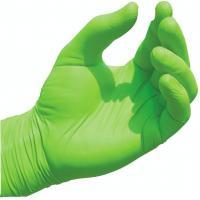 Non Sterile Nitrile Gloves, Green Nitrile Exam GlovesChemical Resistance