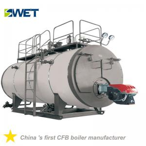 China High Automation Fire Tube Gas Steam Boiler 5 Ton 2 Ton 200kg High Working Efficiency on sale