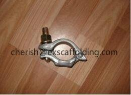 China Drop Forged Scaffolding German Half Coupler on sale