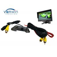 Taxi Vehicle Hidden Camera DVR system , Frontview or Rearview Cam with 6 IR lights