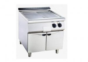 China Gas / Electric Griddle Flat Or Grooved Available Western Kitchen Equipment CE Approve on sale