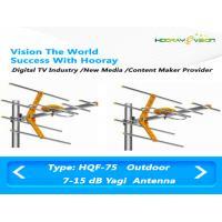 470 - 860 Mhz Digital TV Antenna Terrestrial DVB-T2 / T Yagi UHF Outdoor Antenna